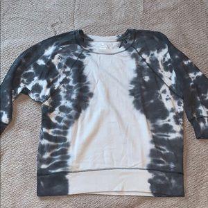 Oversized tunic sweat shirt